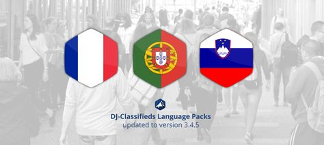 We've added Slovenian language pack for DJ-Classifieds #Joomla #ads #component! French & Portuguese #language packs were also updated.
