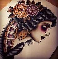 Tattoo traditional american woman 50+ Trendy Ideas