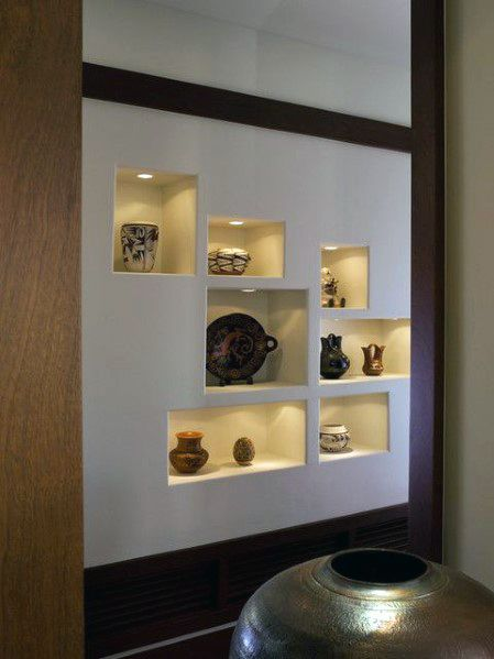 Top 40 Best Recessed Wall Niche Ideas