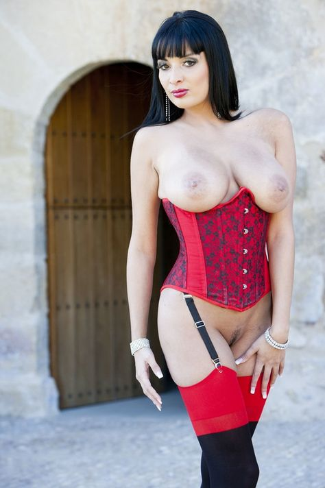 long coat basque and stockings