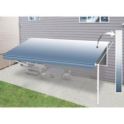 Aleko Awning Replacement Fabric Patio Canopy Patio Retractable Awning