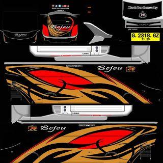 Download Livery Bus Arjuna Xhd V1 2 Di 2020 Stiker Mobil