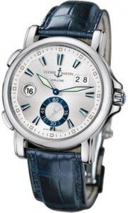 Ulysse Nardin GMT Dual Time 42mm 243-55-91 - Luxury Of Watches