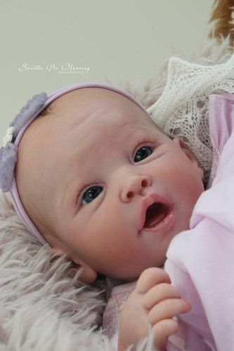 Eyes Clothes Body 20 Inches Reborn Doll Kits Silicone Vinyl Head 3//4 Limbs