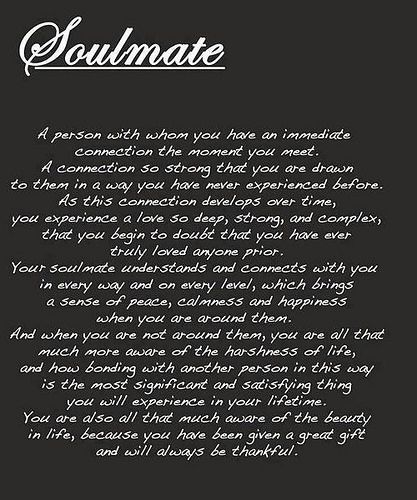 how do you know your soulmate