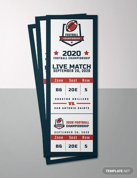 Template Event Ticket Template Sports Ticket Template Ticket Template