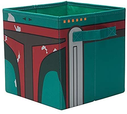 Amazon Com Seven Times Six Star Wars Boba Fett Storage Bin 10 X 10 X 10 Star Wars Boba Fett Storage Bins Boba Fett