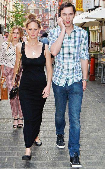 Jennifer Lawrence + Hoult