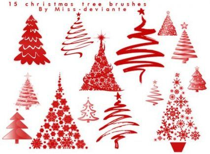 57 Trendy Tree Photoshop Brushes Decoration Dollar Tree Diy Crafts Free Christmas Christmas Material