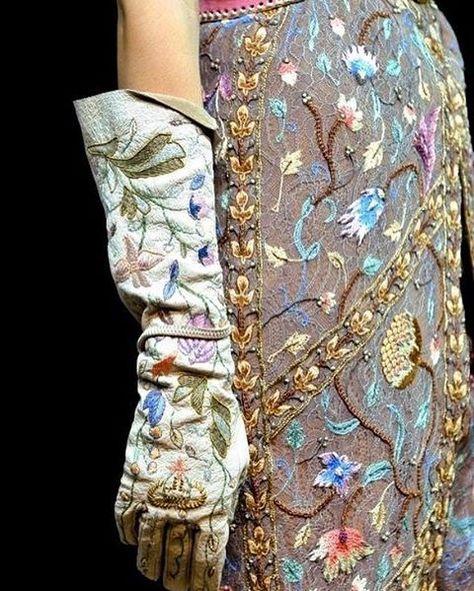 -Christian Dior - Haute Couture - Fabulous Fashion Details- in LOVE