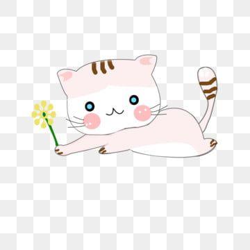 Cartoon Cat Element Cute Material Cat Clipart Cartoon Cat Kitten Elements Png Transparent Image And Clipart For Free Download Cat Clipart Cat Background Cartoon Cat