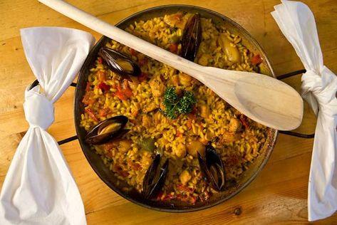 Paella Cafe Madriz | Food guide, Food, Yellowstone