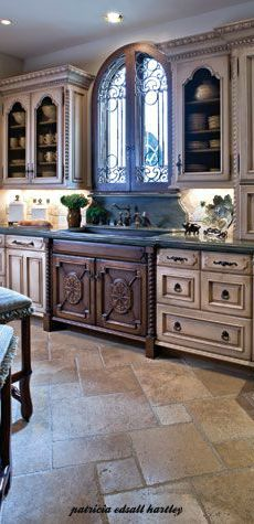Tuscan Kitchen Designs tuscan kitchen color of tile, cabinets, and paint | tuscan wishes