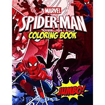 Free Download Spiderman Coloring Book Spiderman Comics Jumbo Coloring Book For Kids Ages 4 8 With 30 Buku Gambar Posting