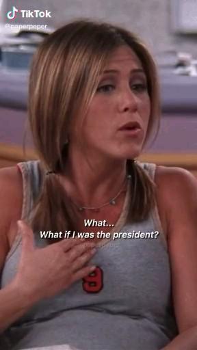 Rachel - Friends scene
