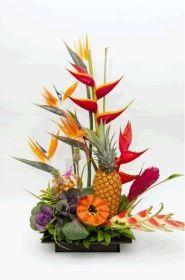 Imágenes Y Tipos De Arreglos Florales Exóticos Y Modernos