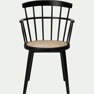 Foggia En 2020 Cannage Chaise Table A Manger Noire