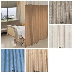 72 Tall By 234 Wide Quick Ship Cocomo Pattern Hospital Curtain Cubicle Curtain Choose Mesh Top Or Solid Panel Choose Color Hospital Curtains Curtains Custom Curtains