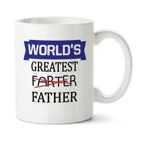 Coffee Mug, Farter Mug, World's Greatest Farter, Father's Day Gift, Gift For Husband, Boyfriend Gift