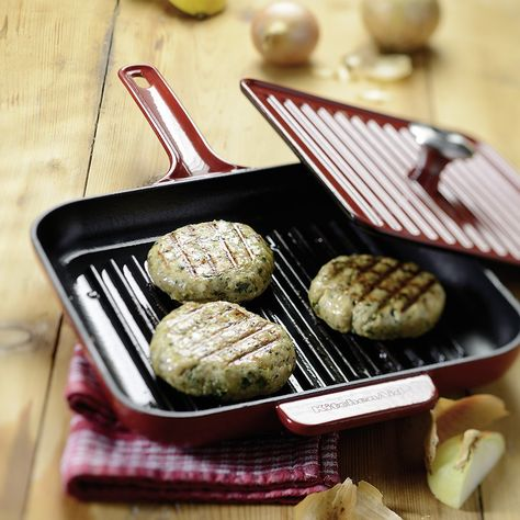 KITCHENAID Grill- und Panini-Pfanne aus Gusseisen