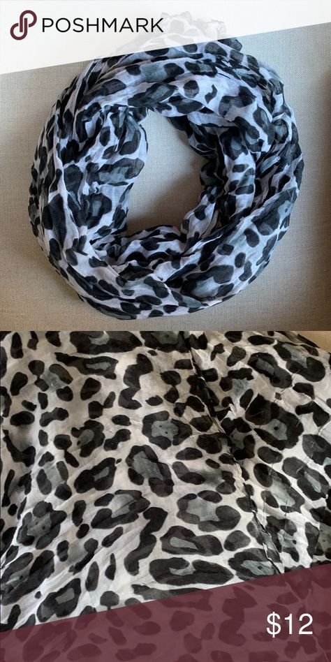 Animal print flowing scarf 🐾 Animal print flowing scarf 🐾  Gentle used with a few snags ... not noticeable when wearing abs price has been reflected. See photo. Accessories Scarves & Wraps