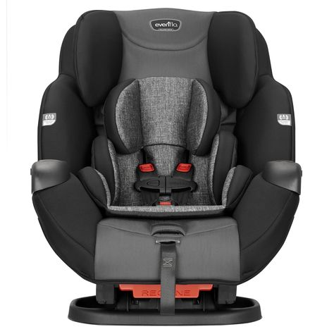 Symphony Sport All-In-One Convertible Car Seat - Charcoal Shadow Black