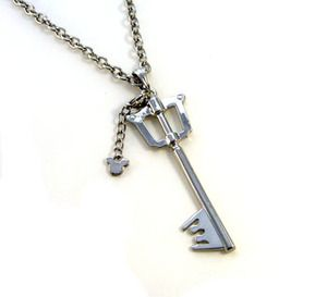 Delicious Kingdom Hearts 2 Ii Metal Sora Metal Keyblade Keychain Pendant Necklace Weapons Collections Set+box Novelty & Special Use Costumes & Accessories