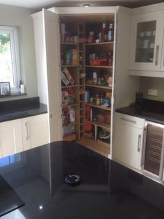 Image Result For Howdens Corner Larder Pantry Design Corner Kitchen Pantry Corner Pantry Cabinet