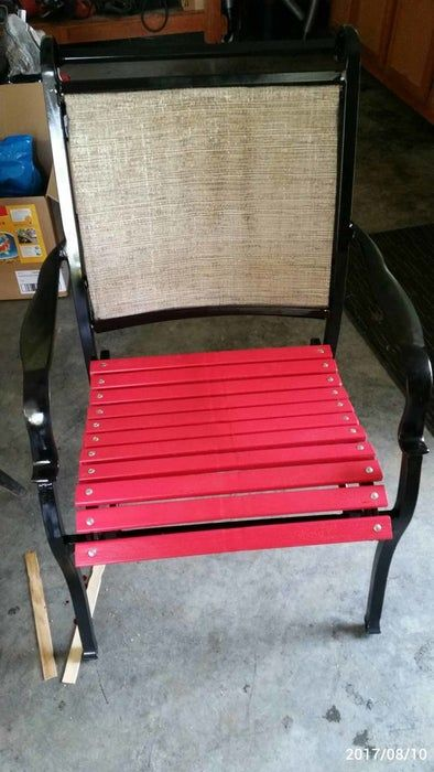 Patio Furniture Rehab In 2020 Patio Chairs Makeover Patio