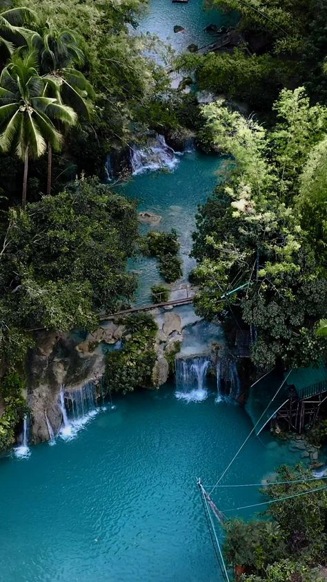 One of the most beautiful waterfall in the Philippines #travel #traveltips #philippines #philippinestravel