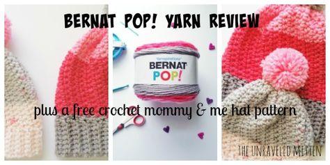 List of Pinterest bernat pop hat ideas & bernat pop hat photos