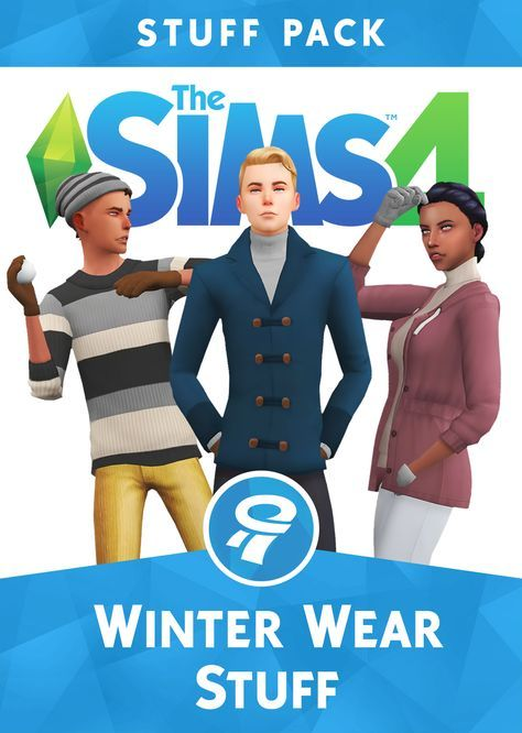 WINTER WEAR STUFF PACK A FANMADE PACK BY WYATTSSIMSHello