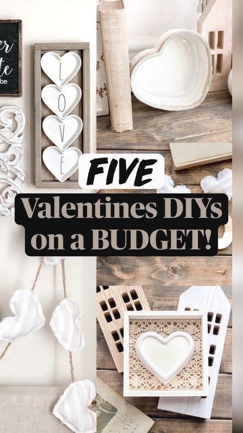 Valentines DIYs  on a BUDGET!