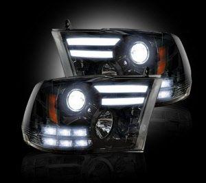 2013 Dodge Ram 1500 2014 Ram 2500 3500 W Oe Projectors Projector Headlights W Ultra High Power Smooth Oled Drl Projector Headlights Ram 1500 Dodge Ram