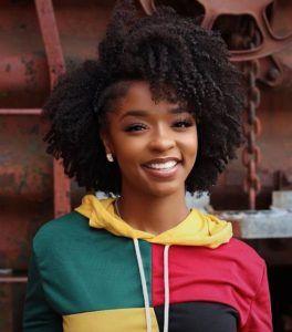 Natural black bob  Natural Hairstyles for Medium Length Hair