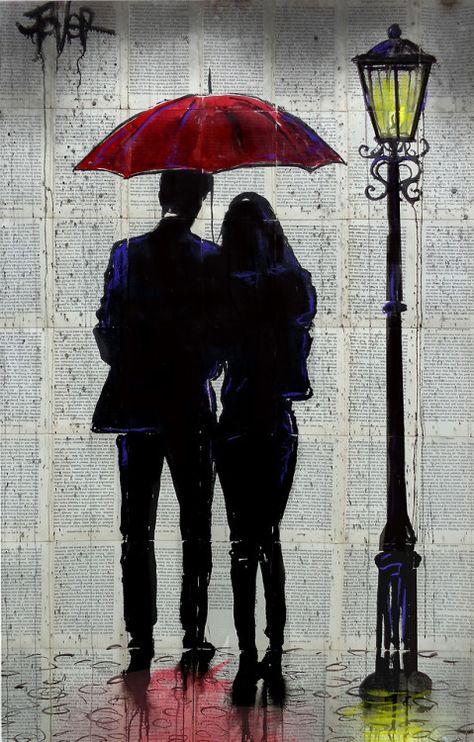 RAIN RAIN COME AGAINa new work in the red umbrella rain...
