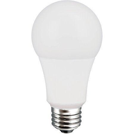 Great Value Led Light Bulb 8 5w 60w Equivalent A19 E26 Soft