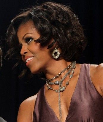 686 best michelle obamas awesomeness images on pinterest who needs the rachel hairstyle when you can do a michelle obama pmusecretfo Images