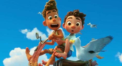 Disney Announces Pixar's 'Luca' Going Straight to Streaming This Summer | Rotoscopers
