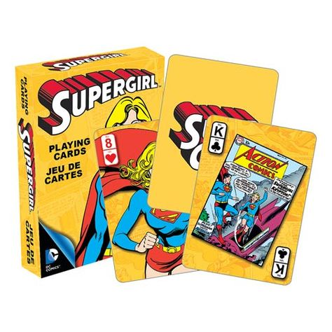 """NEW DC Comics /""""SUPERMAN/"""" Deck of Playing Cards"""