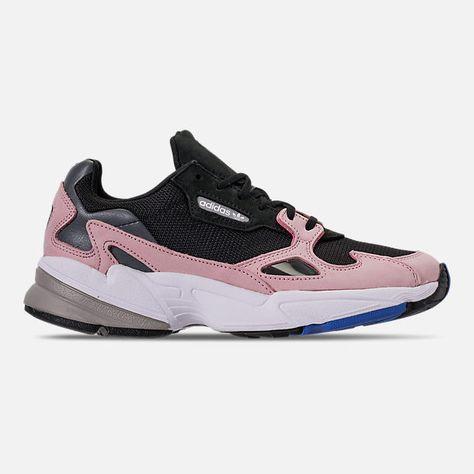 Women's adidas Originals Falcon Suede Casual Shoes | Adidas