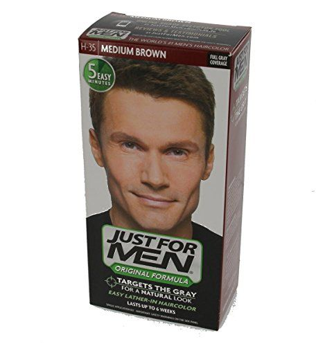 ea9d22e1886 Just For Men Mens Hair ColorJust For Men Original Formula Haircolor is the  traditional way to target 100 of your gray Medium Brown H35     You can  find more ...