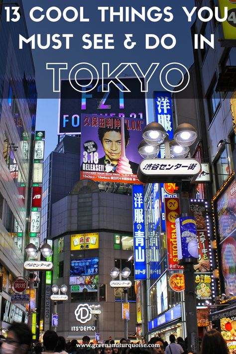 One of the best things about Tokyo is the sheer number of things there are to see and do—and, of course, eat! It's actually hard to narrow it down to the essentials, while still having an experience that's a good balance of everything the city has to offer. But I'm here to help! The following is a list of 13 Cool Things You must See and Do in #Tokyo, from iconic landmarks to local favorites.