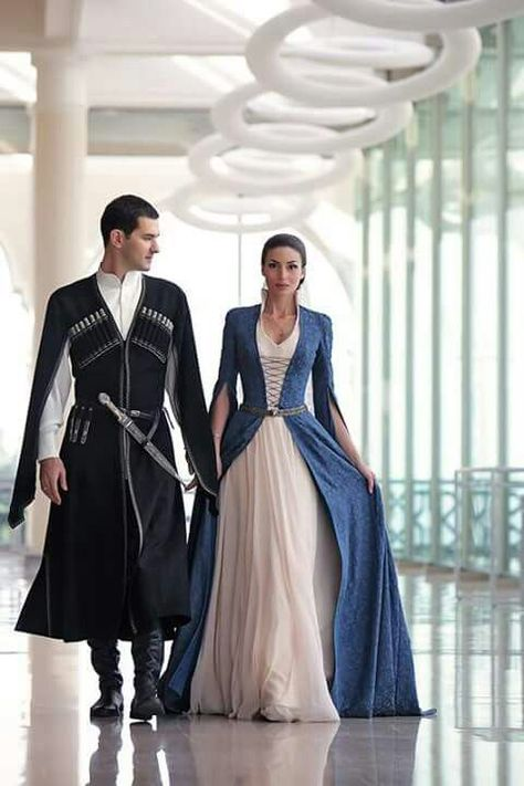 I always thought of medieval wedding fashion
