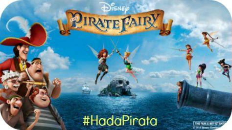 La Magia de Disney, Uniendo Familias! #HadaPirata