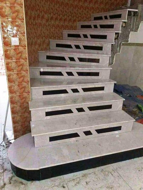 صور درج وسلالم داخلية بالرخام والجرانيتصور تصميمات سلالم رخام وجرانيت داخلية مميزةصور تصميمات سلالم Home Stairs Design Stairs Tiles Design Stairs Architecture