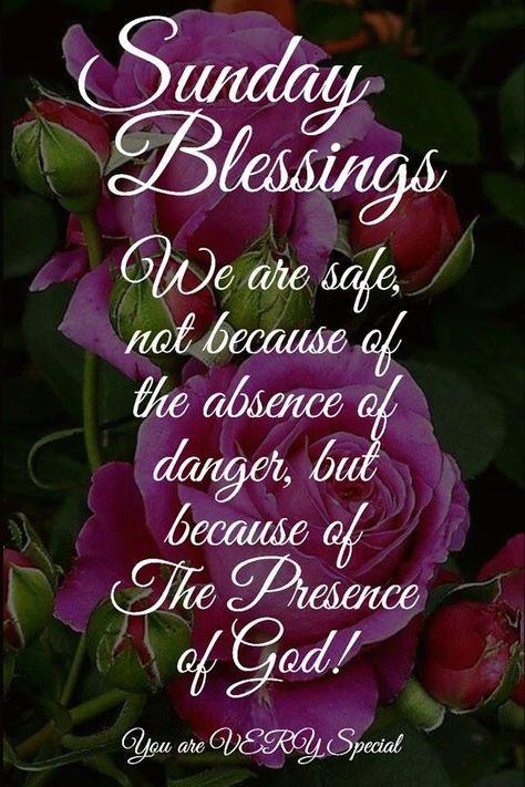 The presence of God, Sunday Blessings sunday sunday quotes sunday ...