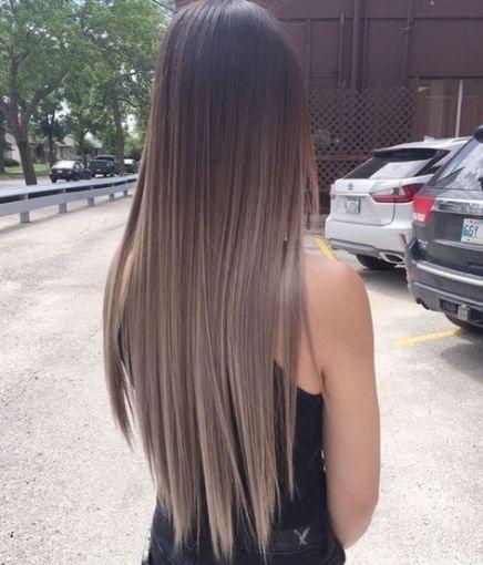 19 Trendy Hair Highlights Straight Black Haircuts Straight Hair Brunette Hair Color Balayage Hair