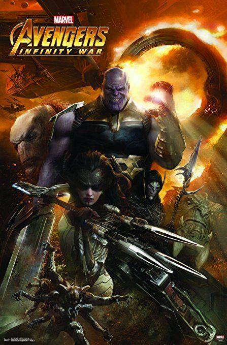 Trends International Avengers Infinity War Evil Group Wall Poster