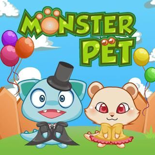 Monster Petadopt Your Very Own Monster In This Online Pet Game Take Good Care Of Your New Friend And Make It Happy Play Mini Gam Pets Animal Games Mini Games